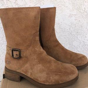 NWOT UGG: Keppler Boots in Chestnut